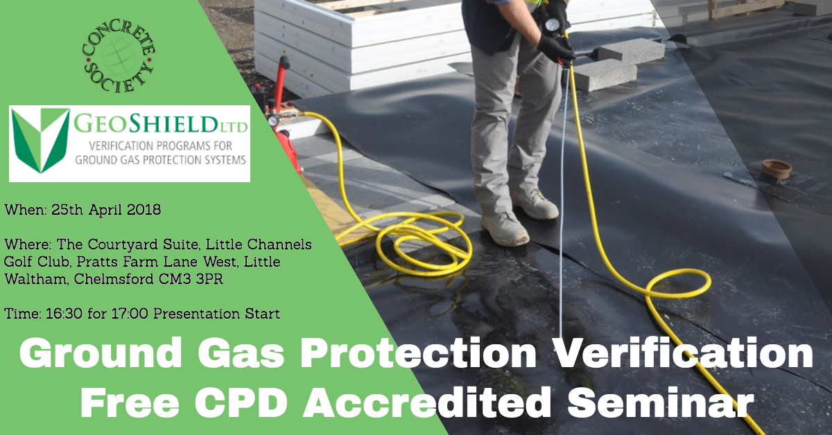 Ground Gas Protection Verification – Free CPD Accredited Seminar