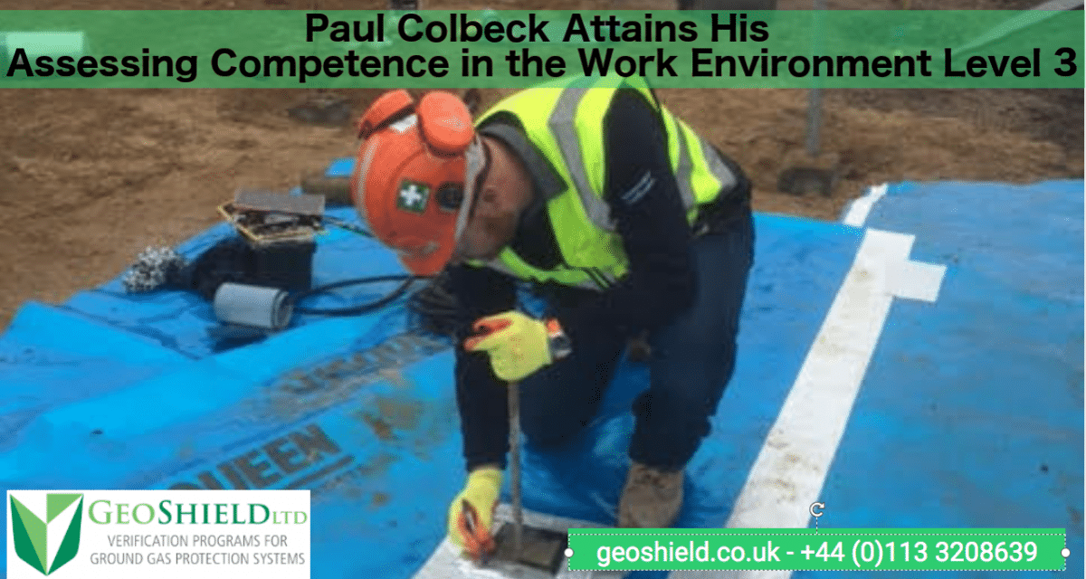 Paul Colbeck Attains His Assessors Qualification