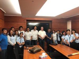 GeoShield Grond gas Protection Verification Visit Manilla