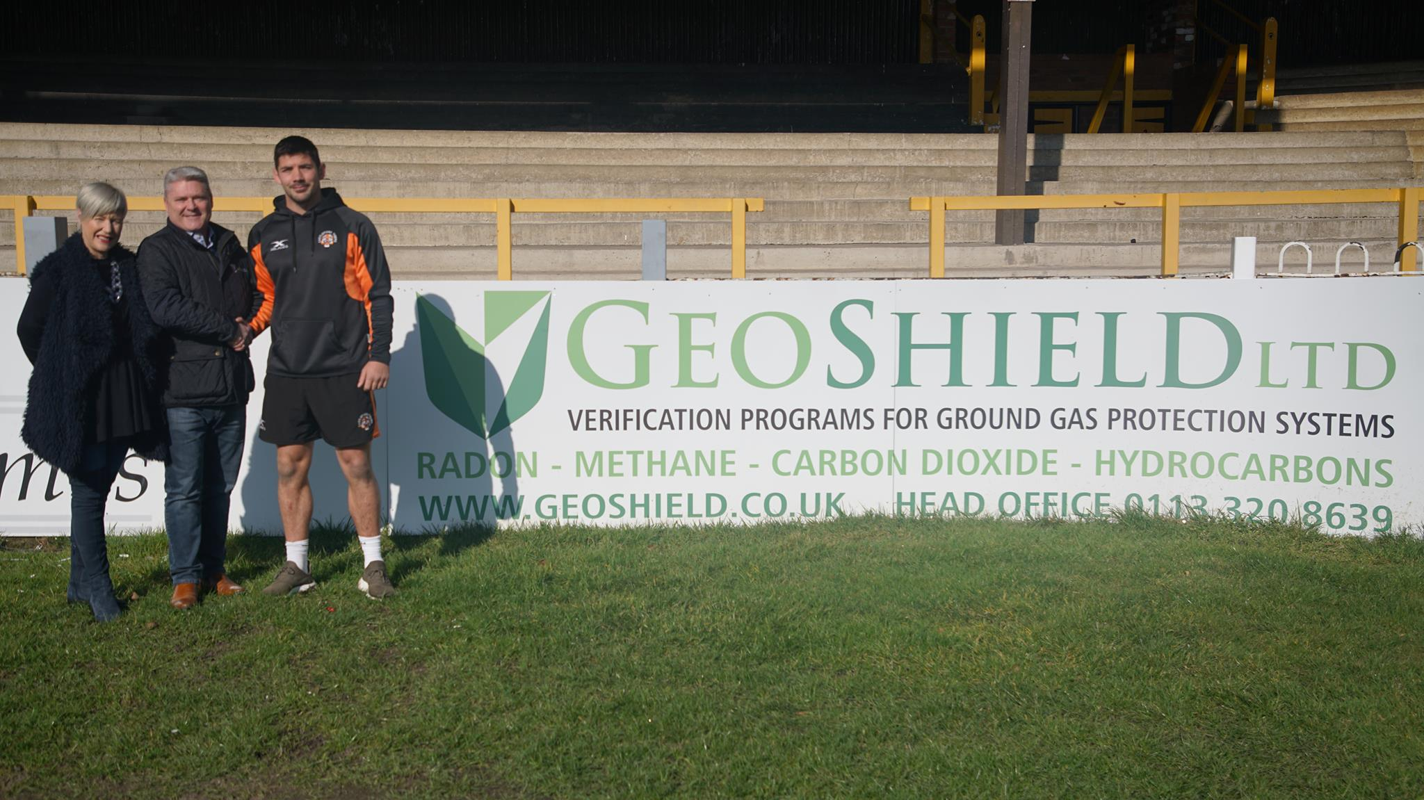 GeoShield sponsor Castleford Tigers Player Chris Clarkson