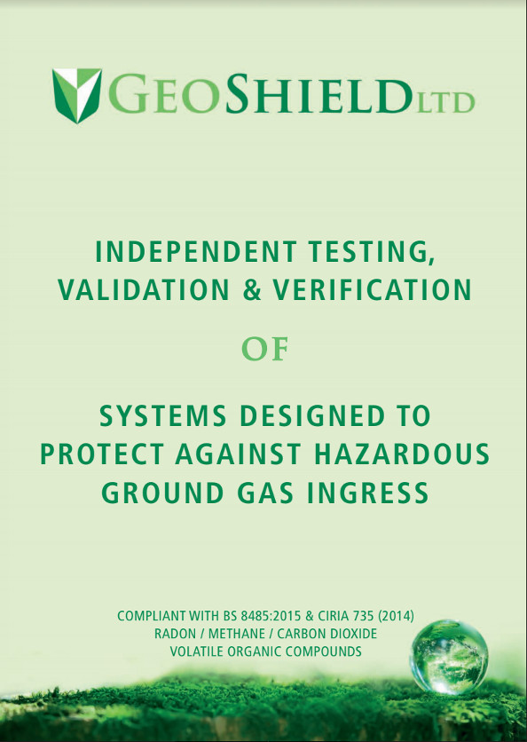 GeoShield Ground Gas Integrity Testing