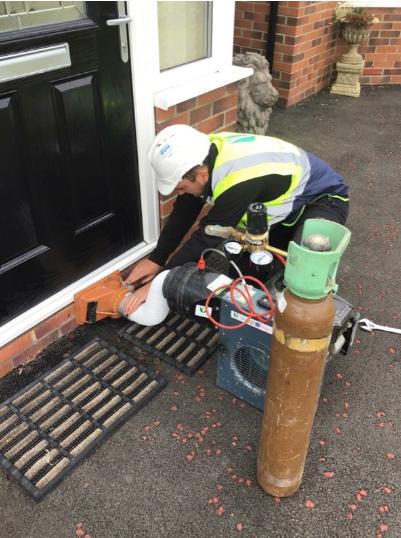 residential inert gas test