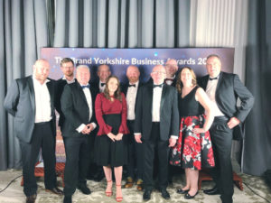 GeoShield Team at the Brand Yorkshire Awards